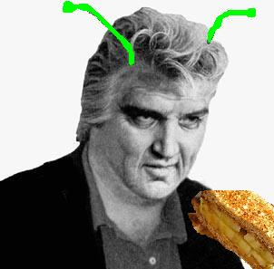 Hungry Alien Elvis