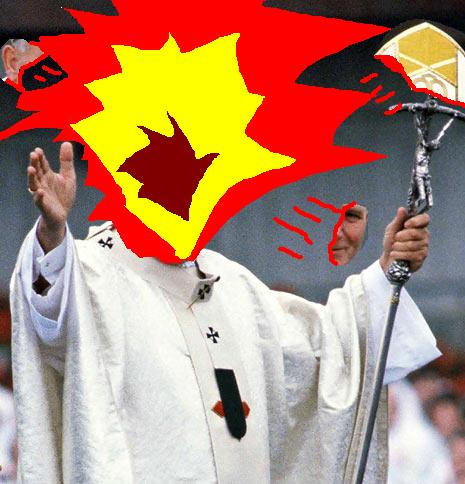 Popesploder: The Pope That Explodes!